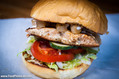 best burgers in town - salmon burger